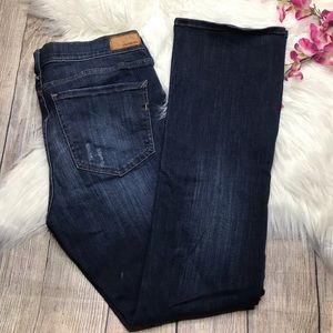 Express Barely Boot Bootcut MidRise Jeans